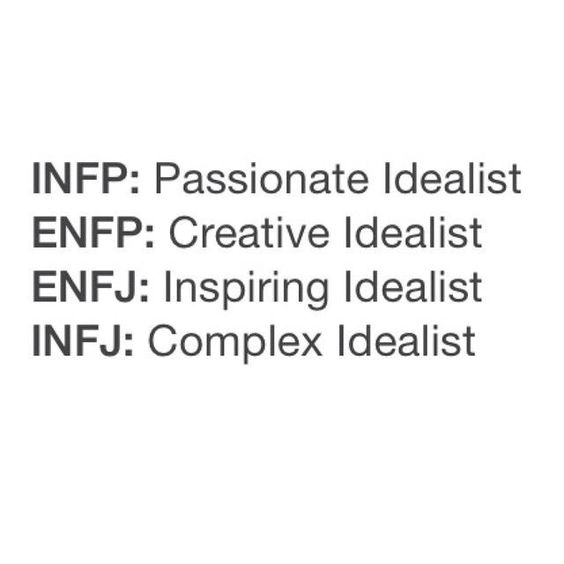 This is so very accurate. INFP Inferior Te: In a chronic grip of inferior Te, Introverted feelers' normal moderate dissatisfaction with others, themselves, and life in general can turn to automatic cynicism, distrust of other's motives, and pervasive anger toward the world and everyone in it. ENFP Inferior Si: When Extraverted Intuitive types are chronically in the grip of inferior Introverted Sensing, inferior func