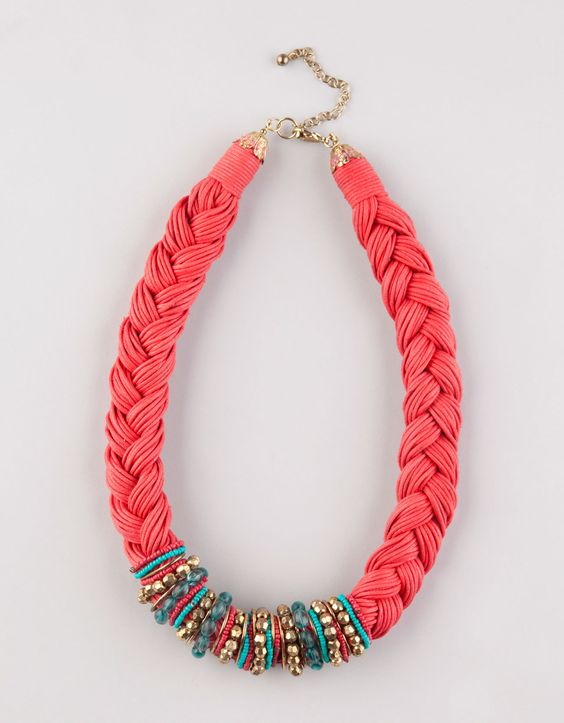 Braided necklace                                                       …