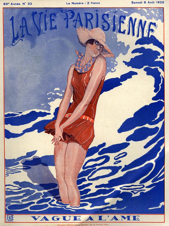 1920s La Vie Parisienne Magazine