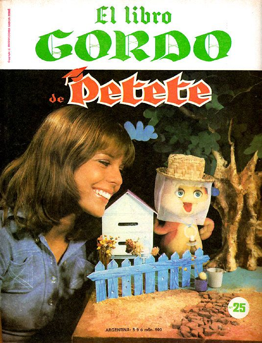 El Libro Gordo De Petete Gorditas Series De Tv Nostalgia