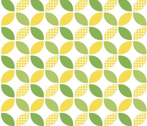 Lemons & Limes - hiphiphoera - Spoonflower