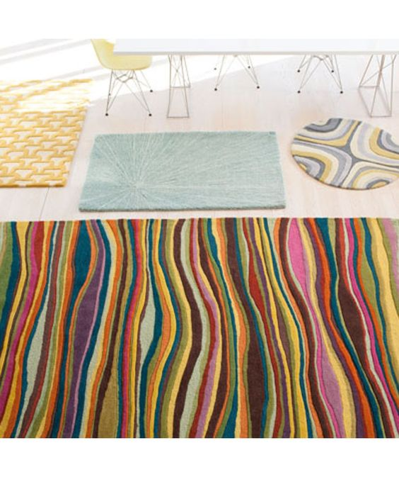 Spike rainbow rug angela adams portland maine for the Angela adams rugs