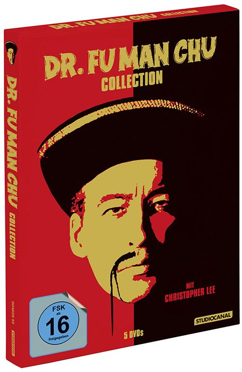 Dr. Fu Man Chu Collection : The Complete Series - Christopher Lee (5 DVDs)