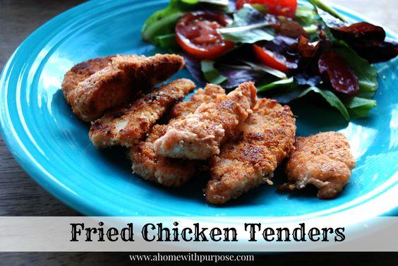 Fried Chicken Tenders (Gluten Free, Soy Free, Dairy Free, Sugar Free ...