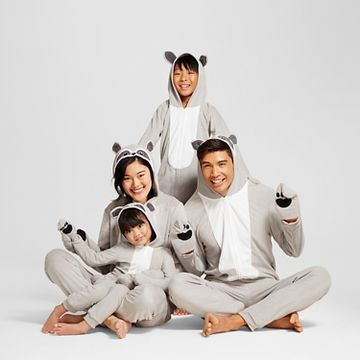 Raccoon Family Pajamas Collection