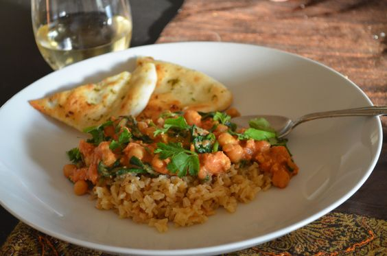 chickpea curry | foodie spot | Pinterest | Chickpeas, Curries and ...