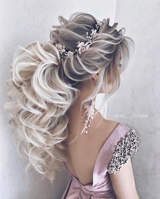 Bridal headband, bridal floral headband, floral crowns, bridal flower headpieces