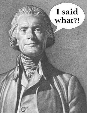 (HISTORY) I need help understanding Thomas Jefferson's flaws?