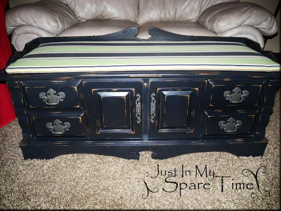 Just In My Spare Time: cedar chest