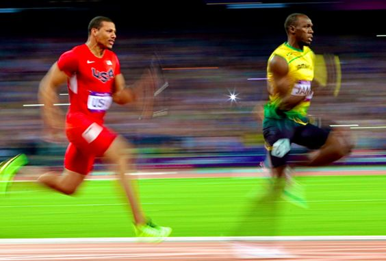 Usain Bolt attempted to win his third gold medal of the London Olympics in the 4x100-meter relay final. See results @BleacherReport