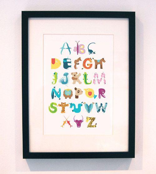 whimsical alphabet