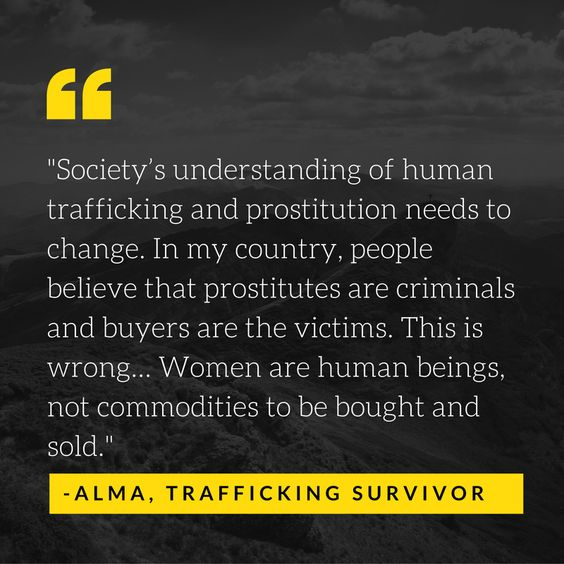 Sex trafficking is growing and we need to fight to prevent this - photo editor job description