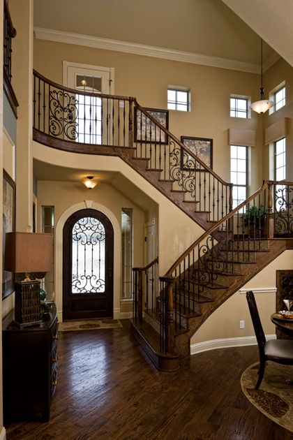 Beautiful Railing Design And Entry Ways On Pinterest