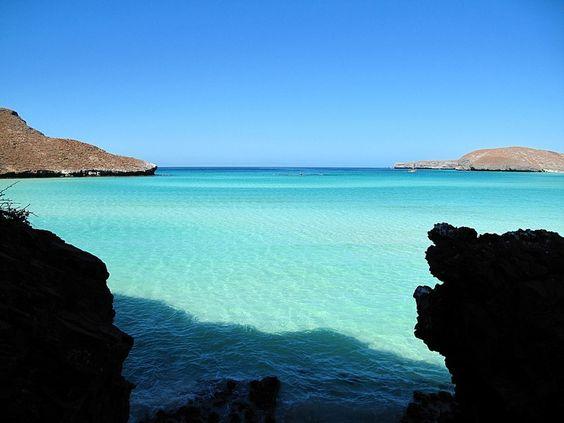 Playa Punta Balandra, Baja California Sur, México