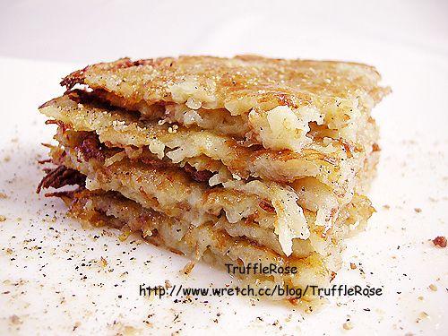 馬鈴薯煎餅 Potato pancake。Rösti 。Hash browns @ 松露玫瑰 :: 痞客邦 PIXNET ::