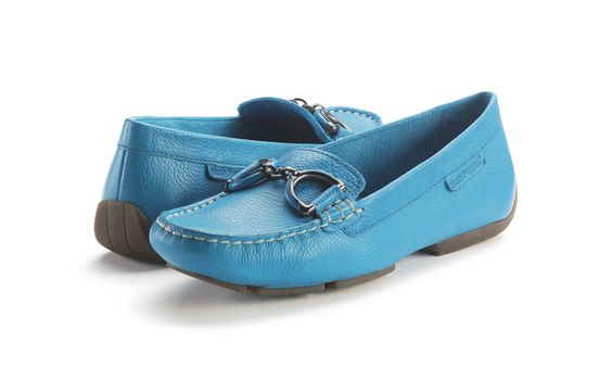 Robin's Egg Blue driving mocs!