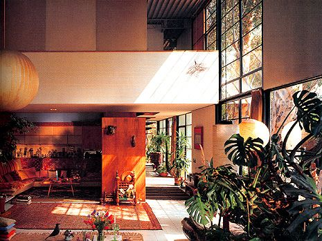 Case Study House #8 / Eames House, Charles and Ray Eames - Los Angeles, Estados Unidos