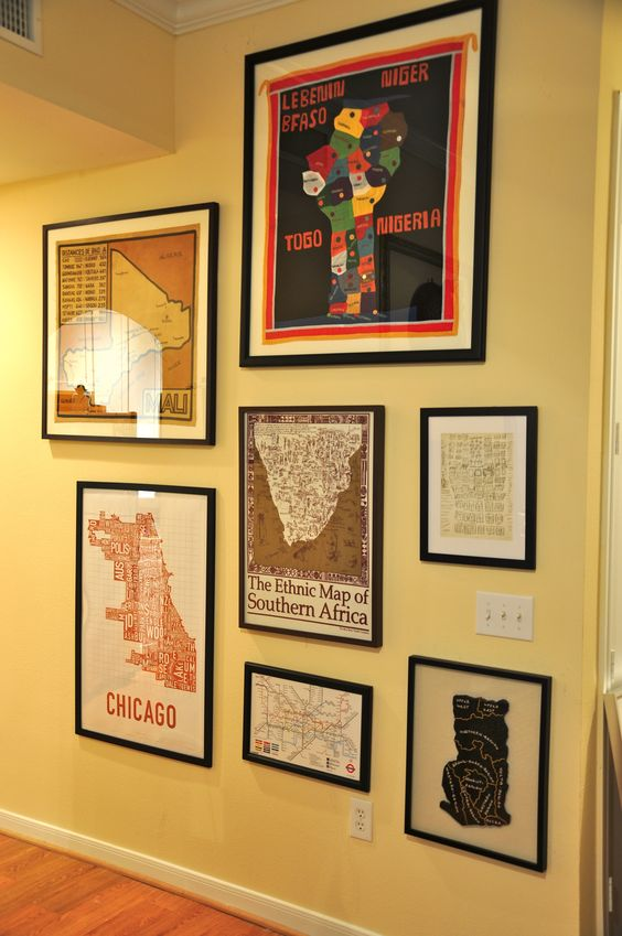 Our gallery of maps we collect from our travels.
