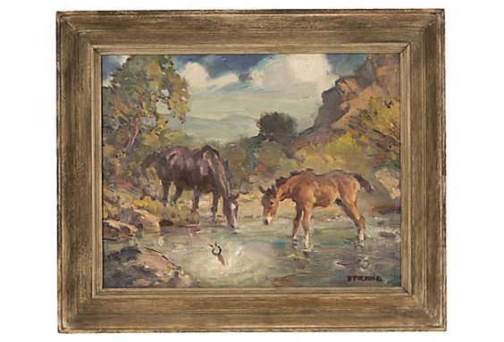 Products Westerns And Oil Paintings On Pinterest