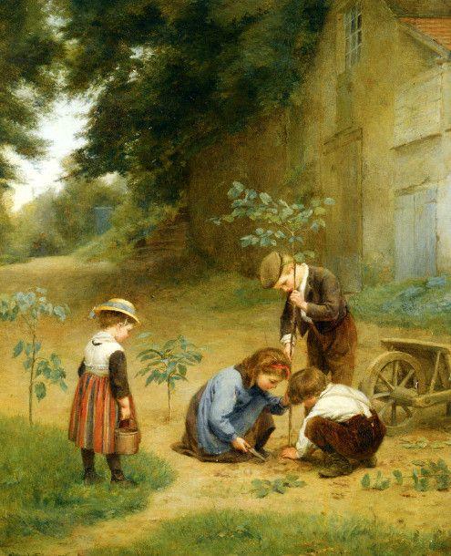 Les jeunes jardiniers