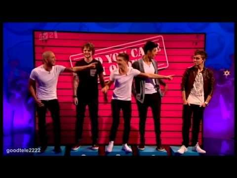 Glad You Came In Order - Celebrity Juice: The Wanted Special - YouTube