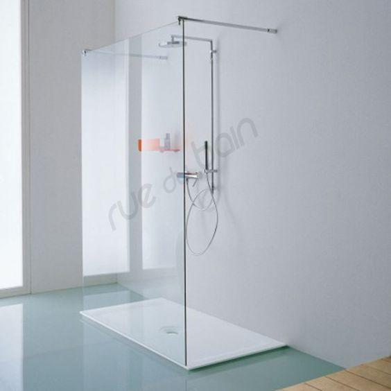 rsolument moderne cette parois de douche est idale pour les douches litalienne - Douche A Litalienne Moderne
