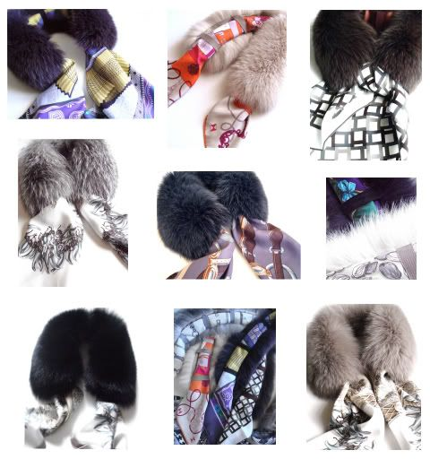 MaiTai's Picture Book: New collection of scarf fur collars: