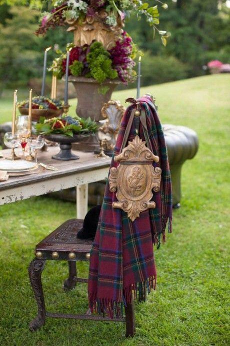 table mariage ecossais 2