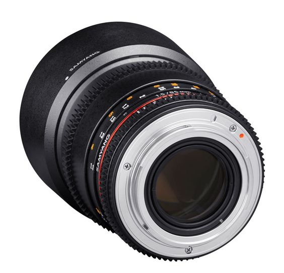 Samyang 85mm T1 5 Vdslr Ii Objekt Für Sony E Mount Objektiv Dslr Objektive Filmkameras