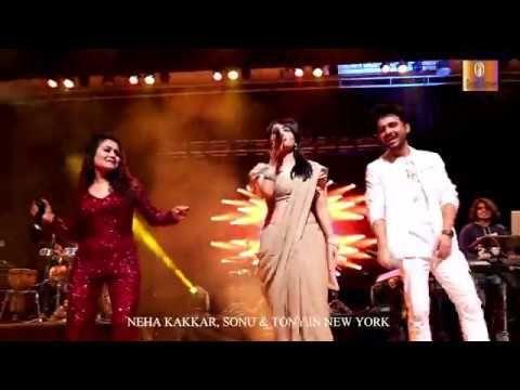 Babu Ji Zara Dheere Chalo Sonu Kakkar And Neha Kakkar Live In New York 4k Official Video Youtube Neha Kakkar Sonu Kakkar Living In New York