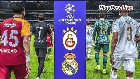 Galatasaray Real Pes 2020 Galatasaray Vs Real Madrid Uefa Champions League Ucl Gameplay Pc Uefa Champions League Champions League League