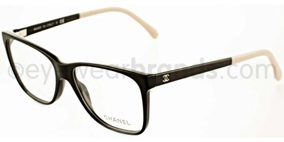 Chanel CH 3230 Chanel CH3230 1333 Black/Cream Chanel ...