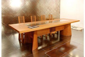 Mesa en madera de Lenga Lenga wood table