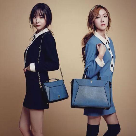 Jessica and f(x) Krystal - Lapalette