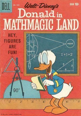Donald in Mathmagic Land Comicbook