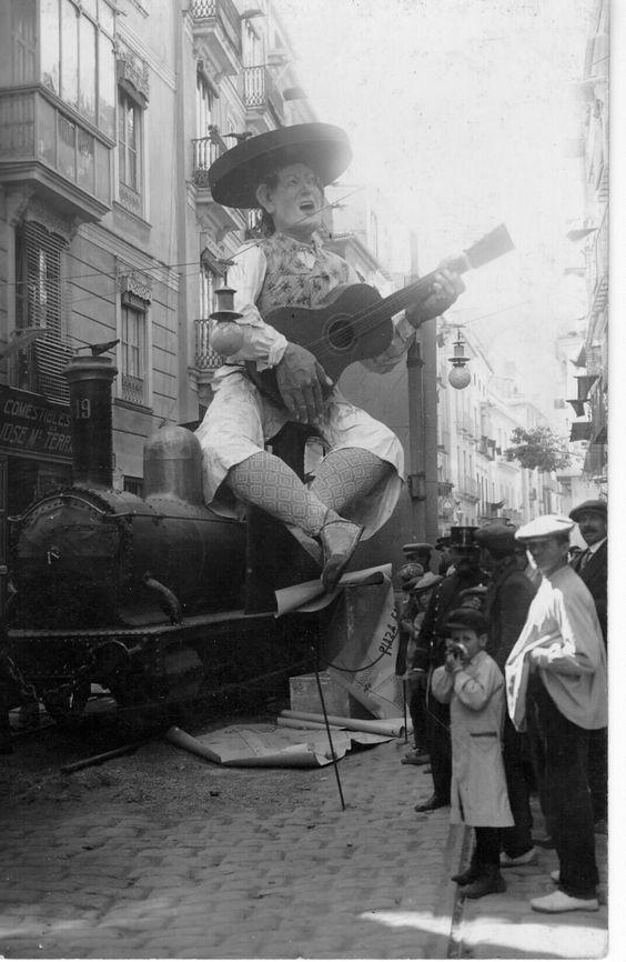 Calle Palomar con Quart (1912)