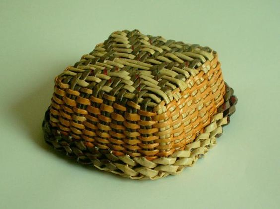 Handmade Baskets Tutorial : The world s catalog of ideas