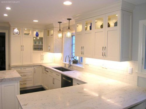 White Hard Maple Cabinetry Located In Stamford Connecticut Custom Kitchen Cabinets Cool Kitchens Small Kitchen Makeovers
