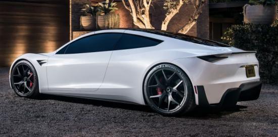 Hier Een Gave Tesla Roadster Wallpaper Tesla Roadster