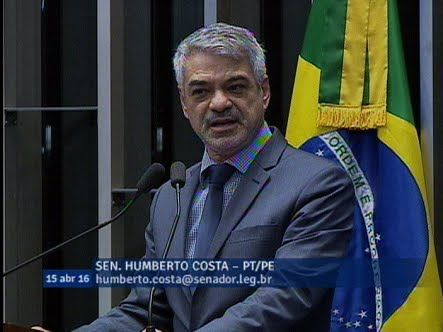 Humberto Costa: estamos banalizando o impeachment https://youtu.be/nsaLGUZdobc