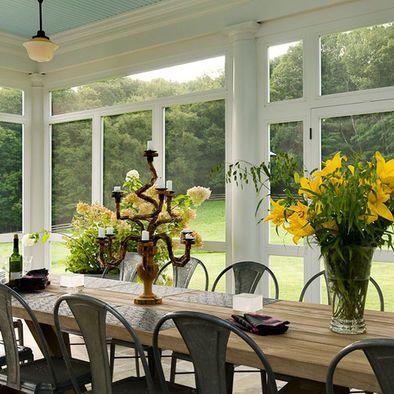 Porch Sunroom Design: