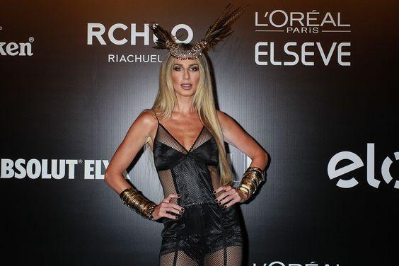 Mariana Weickert em festa em São Paulo: