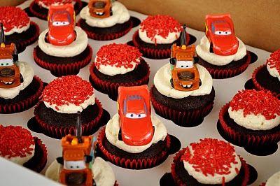 """Sweetharts Cupcakes:  """"Cars"""" Cupcakes"""