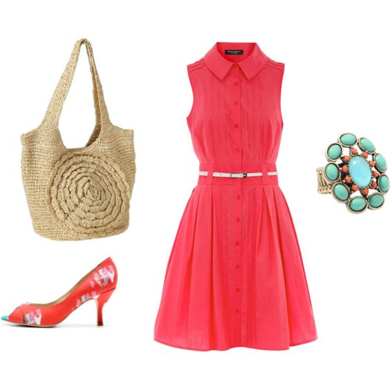Very cute summer outfit for the office! Thankfully I can use R+F Foaming Sunless Tanner on my fair skin! #skinapalooza