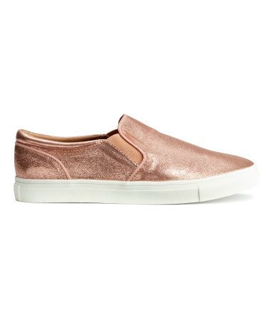 Vans Rose Gold Slip On