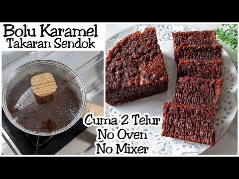 Bolu Sarang Semut 2 Telur Tanpa Mixer Tanpa Oven Bolu Karamel Youtube Makanan Karamel Kue