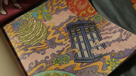 Doctor Who Coloring Book AwsomenesssssIf