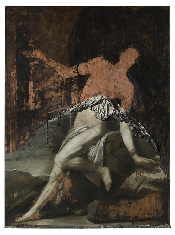 Nicola Samorì's Baroque-Inspired Deconstructionist Paintings | Hi-Fructose Magazine