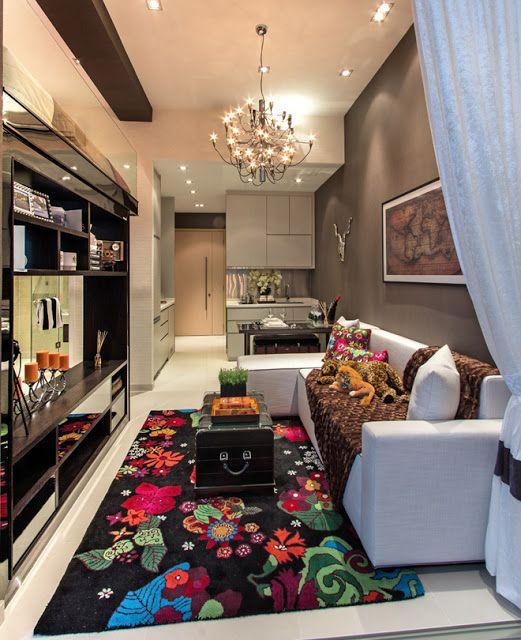 Inspirasi Deco 10 Gambar Dekorasi Untuk Ruang Tamu Yang Kecil Malay Berujar Desain Apartemen Apartemen Kecil Desain Interior Apartemen