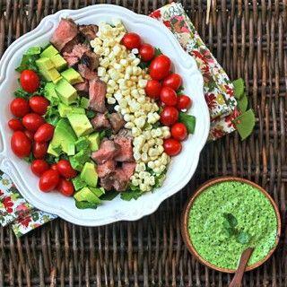 world pesto cilantro pesto recipe salads healthy leftover steak ...